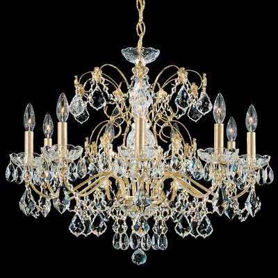 Century 9-Light Candle-Style Chandelier