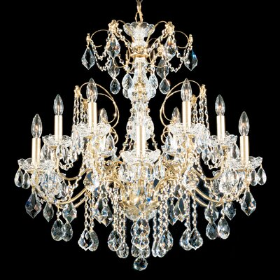Century 12-Light Candle-Style Chandelier