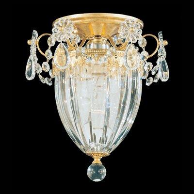 Bagatelle 1-Light Semi Flush Mount Finish: Silver