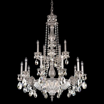 Milano 15-Light Crystal Chandelier
