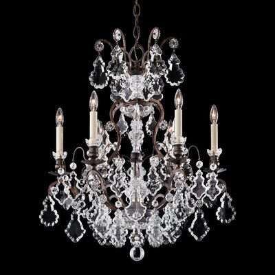 Versailles 6-Light Crystal Chandelier Finish: Etruscan Gold