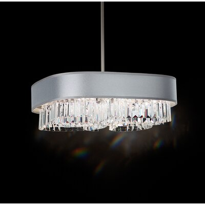 Zeppa Pendant Shade Color: Silver