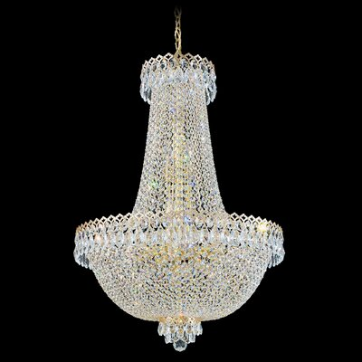 Image of Camelot Chandelier Size / Color: 32 H x 22.5 W x 22.5 D / Special Gold