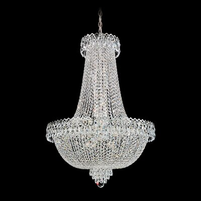 Camelot Chandelier Size / Color: 40 H x 28 W x 28 D / Polished Silver Image