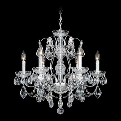 Century 5-Light Crystal Chandelier