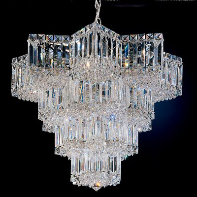 Equinoxe 15-Light Crystal Chandelier Color: Silver