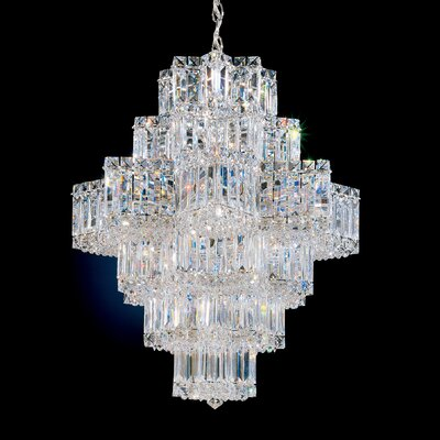 Equinoxe 21-Light Crystal Chandelier Finish: Rich Aurelia Gold