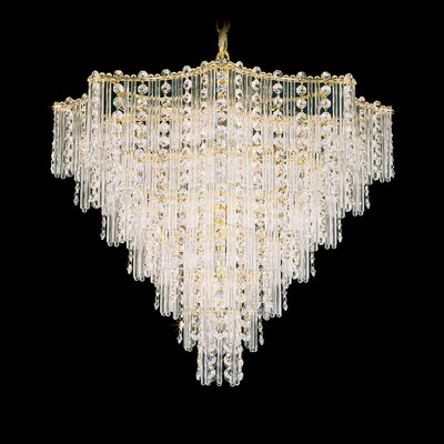 Jubilee 13 Light Foyer Pendant Color: Silver Image