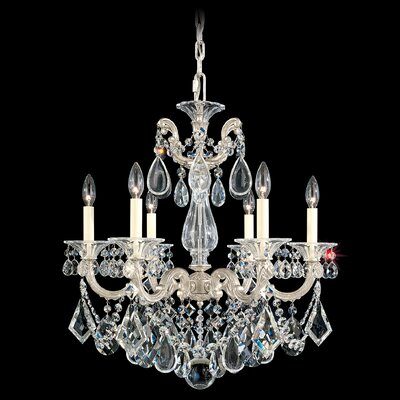 La Scala 6-Light Crystal Chandelier