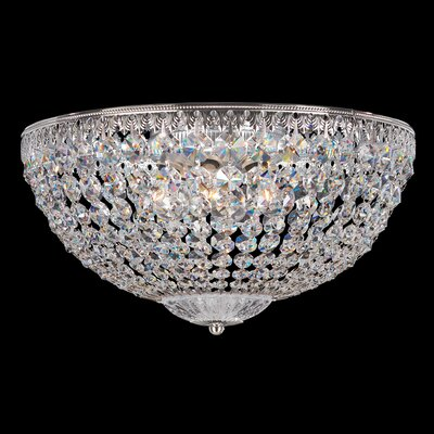 Petit 5-Light Flush Mount Crystal Type: Spectra Clear