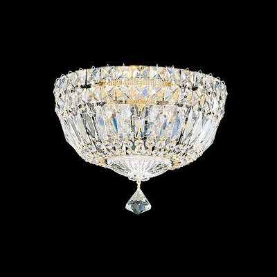Petit 4-Light Flush Mount Crystal Type: Spectra Clear