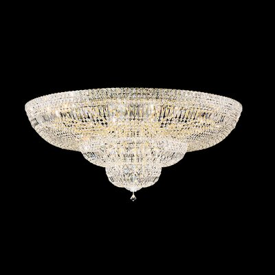 Petit 36-Light Flush Mount Crystal Type: Spectra Clear