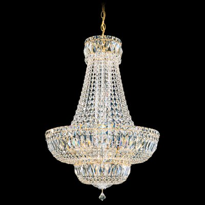 Petit 20-Light Foyer Pendant Finish: Aurelia, Crystal Type: Swarovski Elements Clear