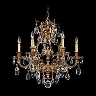 Sophia 6-Light Crystal Chandelier