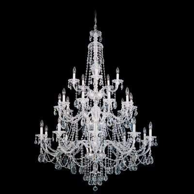Sterling 25-Light Crystal Chandelier