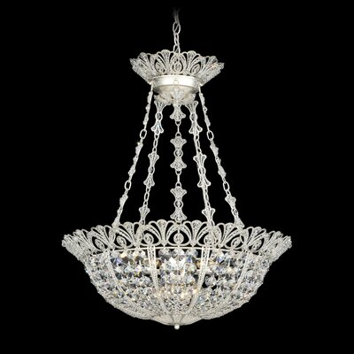 Tiara 5-Light Crystal Chandelier Color: Jet Black