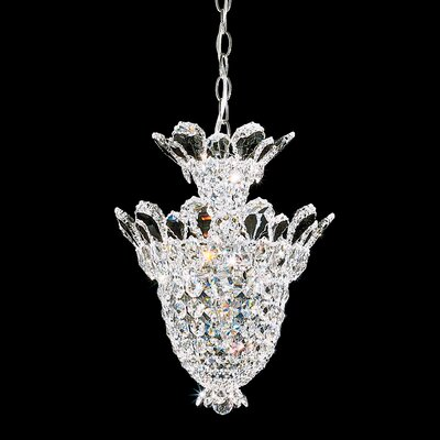 Trilliane 5 Light Pendant Crystal Color: Strass Clear Image