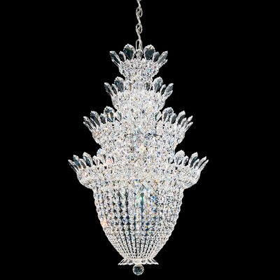 Trilliane LED Crystal Pendant Crystal Color: Strass Clear