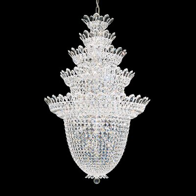 Image of Trilliane 48 Light Pendant Crystal Color: Swarovski Spectra