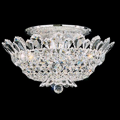 Trilliane Semi Flush Mount Size / Crystal Grade: 9 H x 19 W x 19 D / Strass Clear Image
