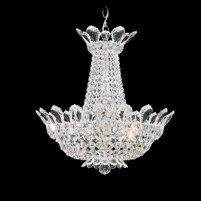 Trilliane Empire Chandelier Size / Crystal Color: 30 H x 28 W x 28 D / Spectra Swarovski