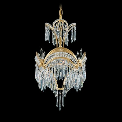 Image of Victorian 1 Light Foyer Pendant Color: Heirloom Bronze
