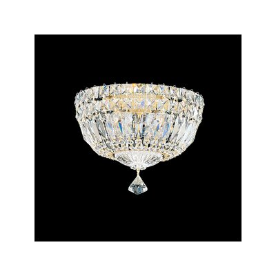 Petit Crystal Deluxe 4-Light Flush Mount