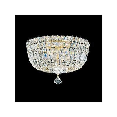 Petit Crystal Deluxe 5-Light Flush Mount