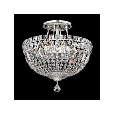 Petit Deluxe 6-Light Semi Flush Mount