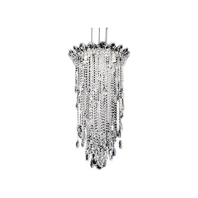 Trilliane 5-Light Pendant Crystal Type: Heritage Clear