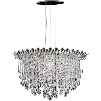 Trilliane 10-Light Crystal Pendant