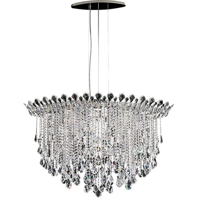 Trilliane 8-Light Crystal Pendant