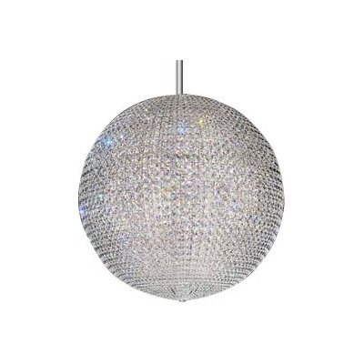 Da Vinci 72-Light Globe Pendant Crystal: Clear Spectra