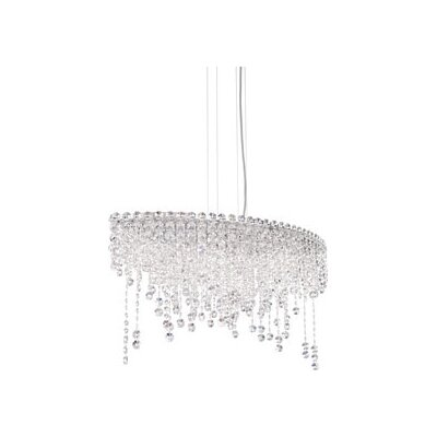 Chantant 6-Light Crystal Pendant Crystal Type: Heritage Handcut Clear