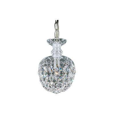 Olde World 1-Light Crystal Pendant Crystal Type: Swarovski Elements Clear