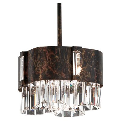 Zeppa 2-Light Pendant Finish: Heirloom Bronze