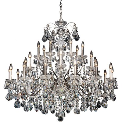 Century 28-Light Candle-Style Chandelier