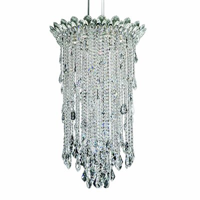 Trilliane Strands 6-Light Crystal Pendant Crystal: Heritage
