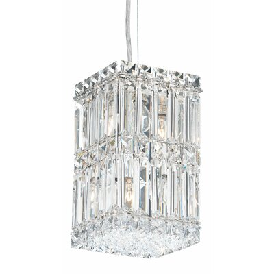 Quantum 4-Light Crystal Pendant
