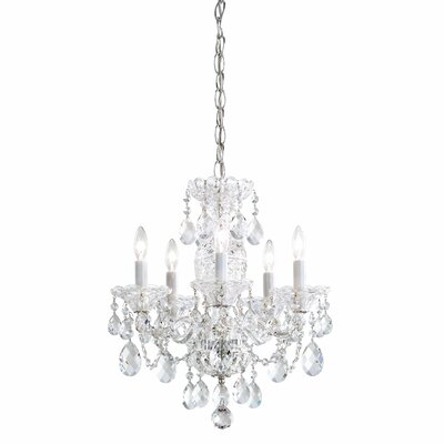 Sterling 5-Light Candle-Style Chandelier