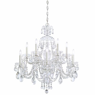 Sterling 12-Light Candle-Style Chandelier