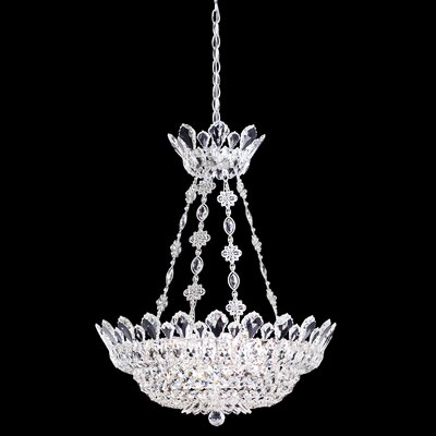 Trilliane Crystal Chandelier Size / Crystal Color: 28 H x 24 W x 24 D / Strass Clear