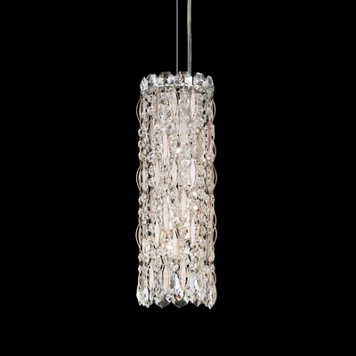 Sarella 3-Light Crystal Pendant Finish: Stainless Steel, Crystal Grade: Swarovski
