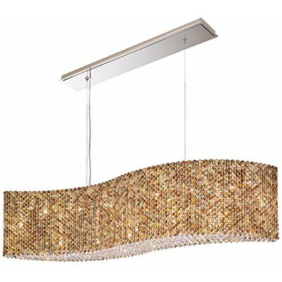 Refrax 21-Light Crystal Pendant