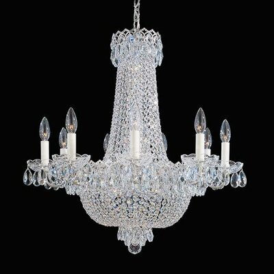 Camelot 17-Light Crystal Chandelier Finish: Silver