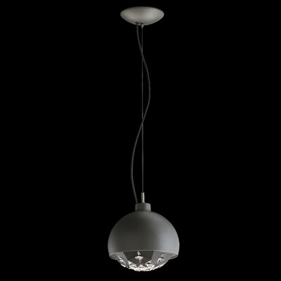 Estrella 1-Light Mini Pendant Finish: White