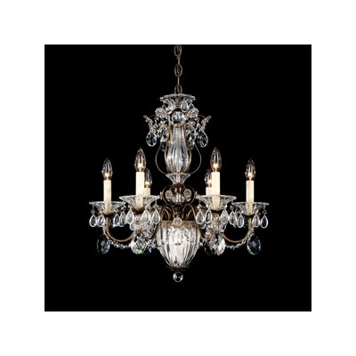 Bagatelle 6-Light Crystal Chandelier