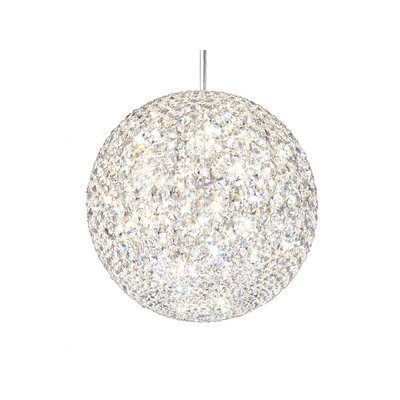 Da Vinci 18 Light Globe Pendant with Spectra Crystals Image