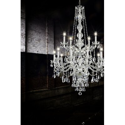 Arlington 15-Light Candle-Style Chandelier