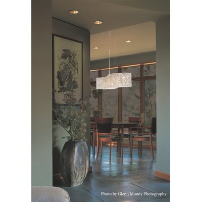 Refrax 13-Light Kitchen Island Pendant Crystal Type: Spectra Clear